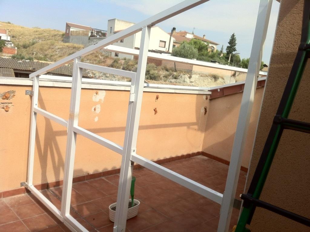 Proyecto invernadero diario de siembra - Invernadero casero terraza ...